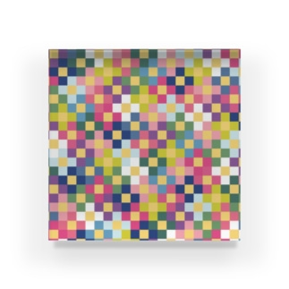 ドットフラワーズ Acrylic Block