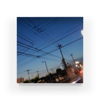 夜の青空の夜の青空0036 Acrylic Block