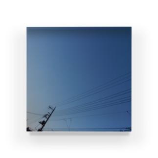夜の青空0084 Acrylic Block