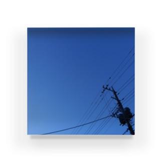 夜の青空0085 Acrylic Block