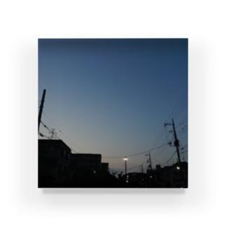 夜の青空の夜の青空0054 Acrylic Block