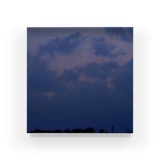 夜の青空の夜の青空0002 Acrylic Block