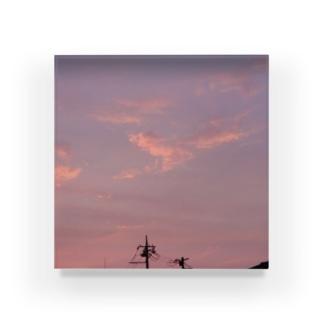 夜の青空の夜の青空0012 Acrylic Block