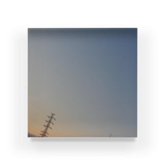 夜の青空の夜の青空0024 Acrylic Block
