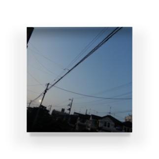 夜の青空の夜の青空0089 Acrylic Block