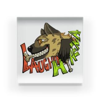 LAUGHING HYENA Acrylic Block