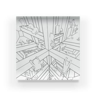 大迷宮! Acrylic Block