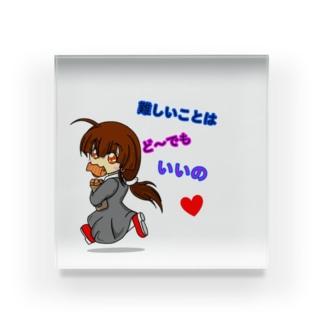 愛娘(仮):たい焼き Acrylic Block