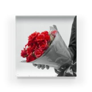 Lovers Acrylic Block