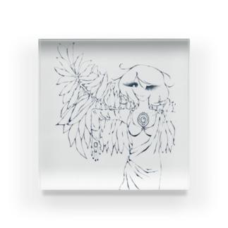 天使 Acrylic Block