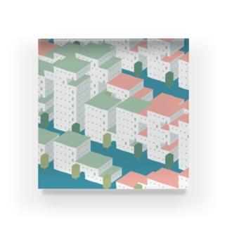 バグった集合住宅 Acrylic Block
