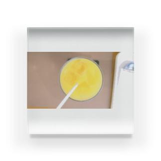 トップオブオレンジジュース Acrylic Block