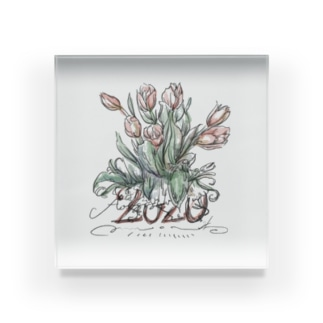 flower 2020 Acrylic Block