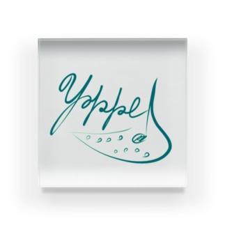 yokkeOcarinaロゴグッズ Acrylic Block