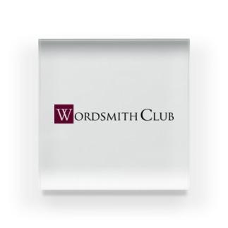 Wordsmith club Acrylic Block