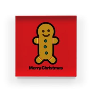 クリスマスオーナメント ジンジャーブレッドマン Acrylic Block