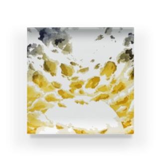 夕焼け・雲景 Acrylic Block