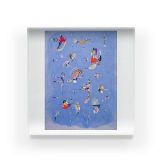 ワシリー・カンディンスキー 《空の青》 Acrylic Block