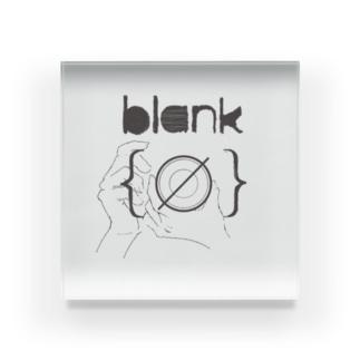 写真展 blank Acrylic Block