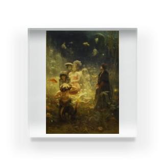 イリヤ・レーピン 《海底の王国でのサドコ》 Acrylic Block