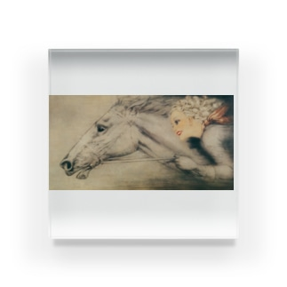 ルイ・イカール 《サラブレット》 Acrylic Block