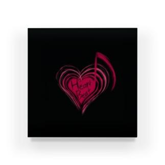 HeartBeat(Black) Acrylic Block