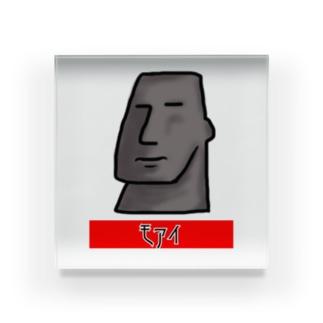 モアイくん Acrylic Block