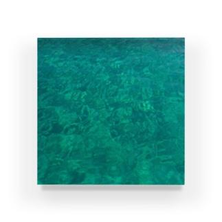 エメラルドグリーンの海 Acrylic Block