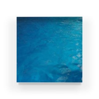 青の輝き Acrylic Block