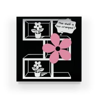 この棚せますぎ!pink Acrylic Block
