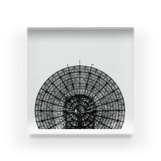 パラボラアンテナ(府中トロポサイト) Acrylic Block
