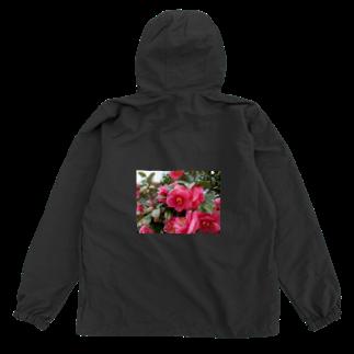 fun timeのPink camelia blooming カメリア Anorak