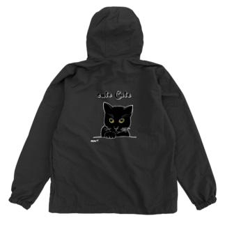 女黒猫 Anorak
