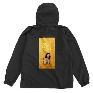 nozuki gold Anorak