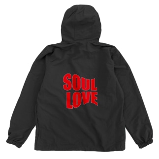 SOUL LOVE ロゴ forth Anorak