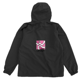 STAY POSITIVE PINK Anorak