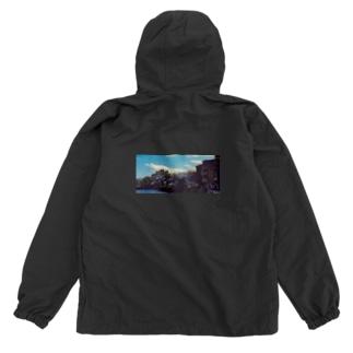 雲と風景の服 Anorak