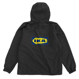 IKA イカ いか  ロゴ  Anorak