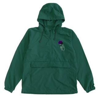 アネモネ紫-濃色ベース- Anorak