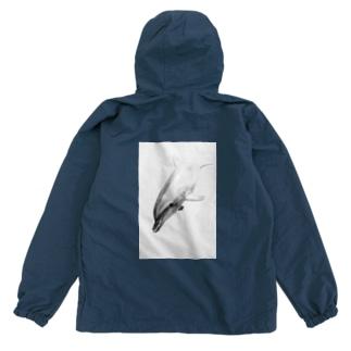 白黒イルカ Anorak