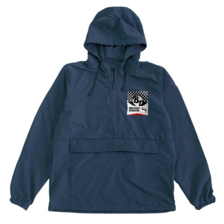 Red Lettered Anorak
