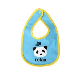 ha*ppy panda Baby bibs