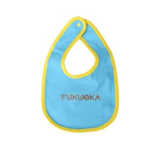 fukuoka 愛がとまらない Baby bibs