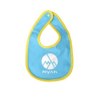 Nyah - white Baby bibs
