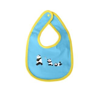 風鈴パンダ Baby bibs