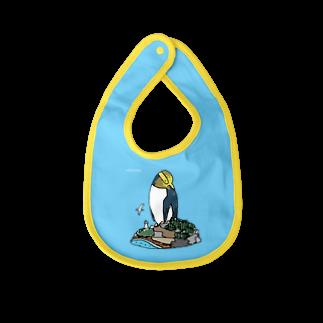 ペンギンパカリのキガシラペンギン Baby bibs