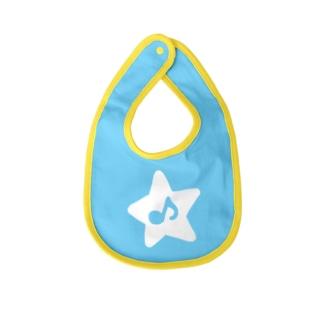 minoli Destiny WHITE STAR Baby bibs