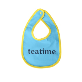 ティータイム Teatime ロゴグッズ Baby bibs