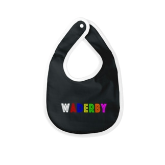 WADERBY(黒用) Baby bibs