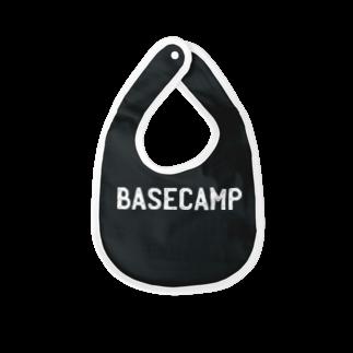 BASE-CAMPのBASE CAMP 03 WHITE Baby bibs
